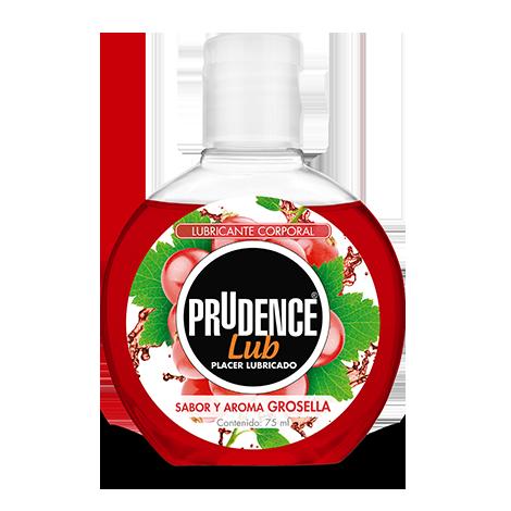 Lubricante corporal Prudence sabor grosella