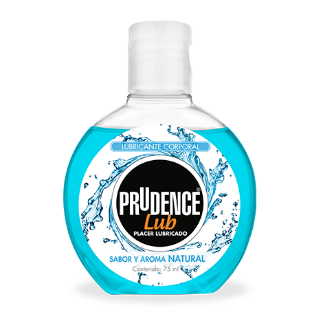 Lubricante corporal Prudence sabor naturaL