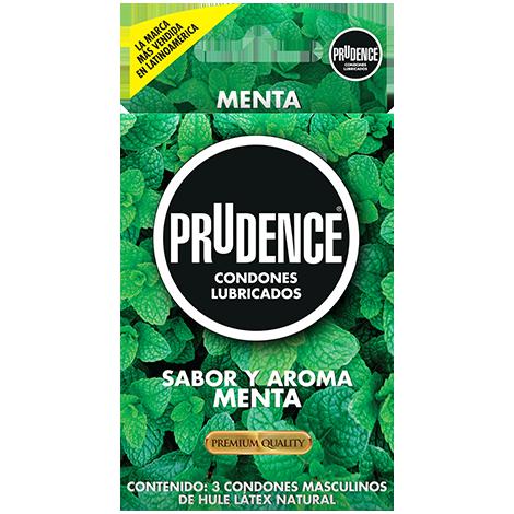 Condones Prudence sabor menta