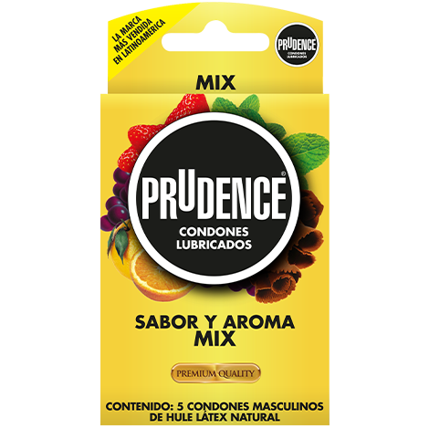 Condones Prudence MIX, Condones de Sabores