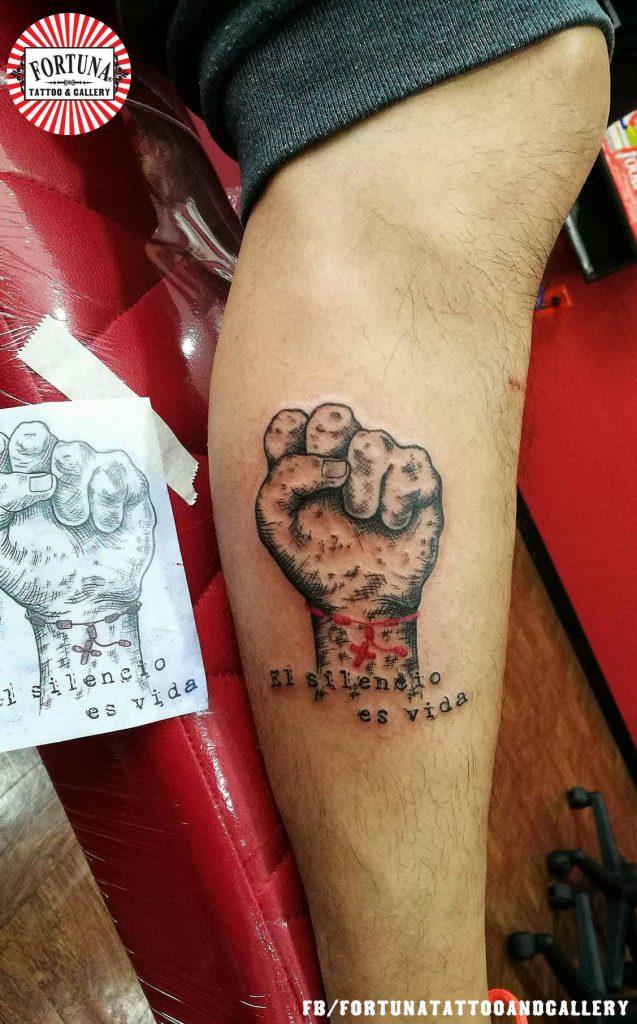 Tatuaje de 19 de Septiembre Temblor