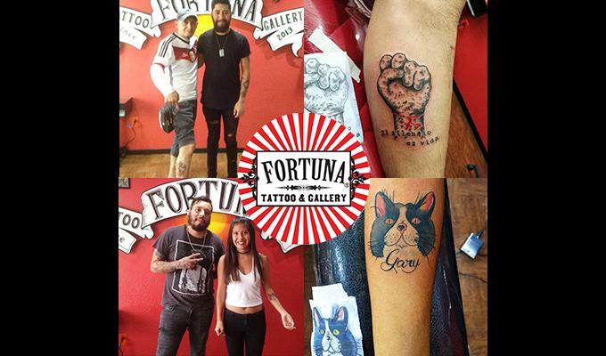imagen de Tatuate con Prudence & Fortuna Tattoo