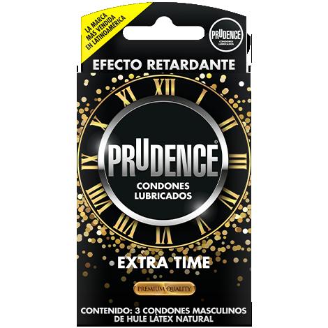 Condón Prudence Extra tiene , Condón Retardante