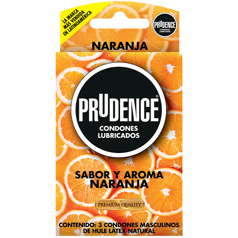 Prudence sabor naranja